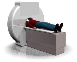 Aufnahme des CT in der computernavigierten Implantologie